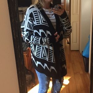 Forever 21 Aztec Sweater